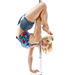 Electrick-pole-dance-Bordeaux-Handstand-onehand