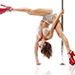 Electrick-pole-dance-Bordeaux-Handstand-variation